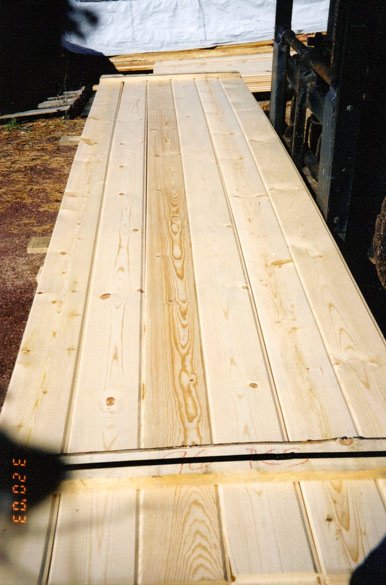 T&G Pattern 1x8 WP4 - From #2 Grade Common | Ponderosa Pine or Spruce Pine Fir (SPF)